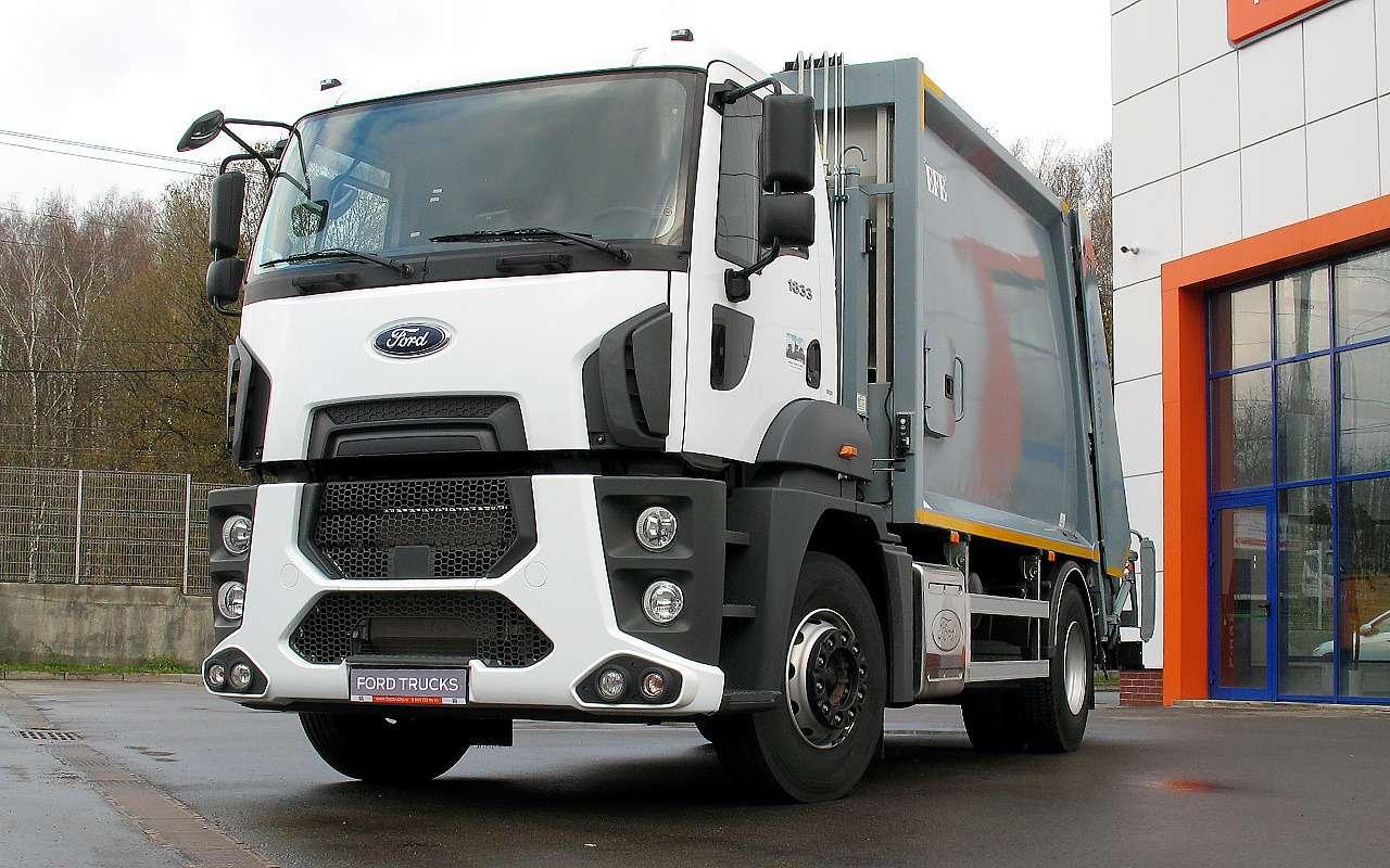 Новый 18-тонный грузовик Ford российской сборки— фото 1226827