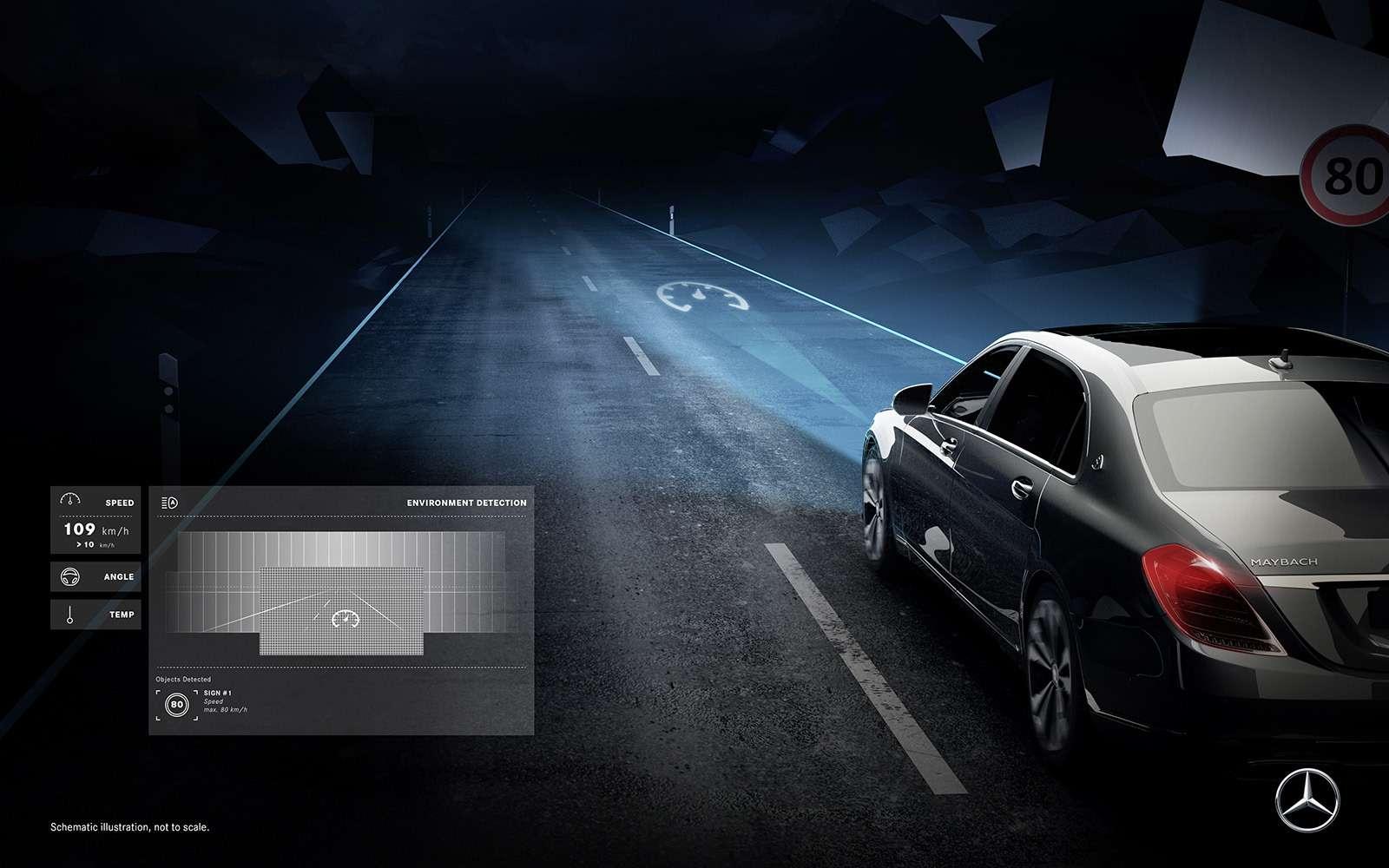 «Ярисую наасфальте»: Mercedes-Maybach представил уникальные фары— фото 851512