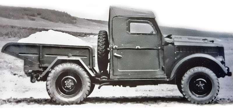 ГАЗ-69 самосвал