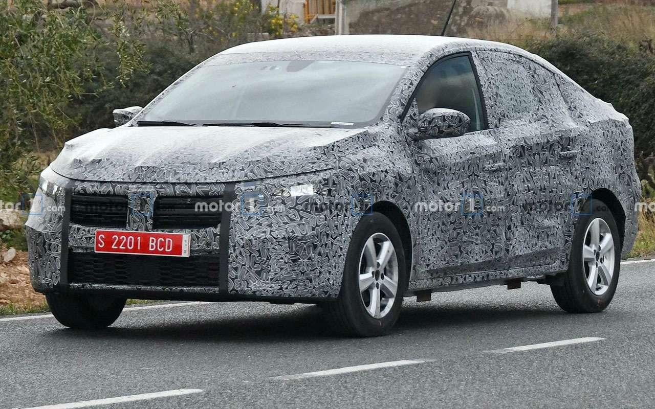 Новый Renault Logan— первые фото стестов— фото 1082937