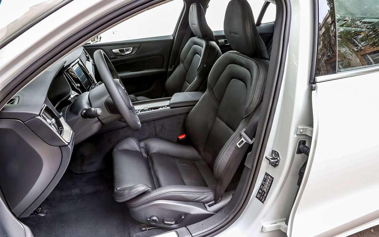 Новый Volvo S60: много плюсов и4минуса (несчитая цену)— фото 1005788