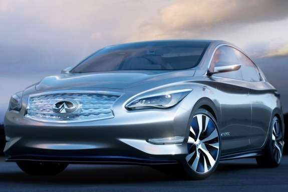 Infiniti LEConcept side-front view