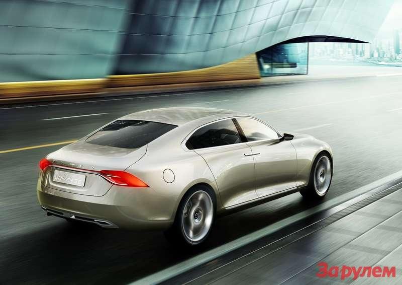 Concept Universe— концепт-кар нового седана Volvo