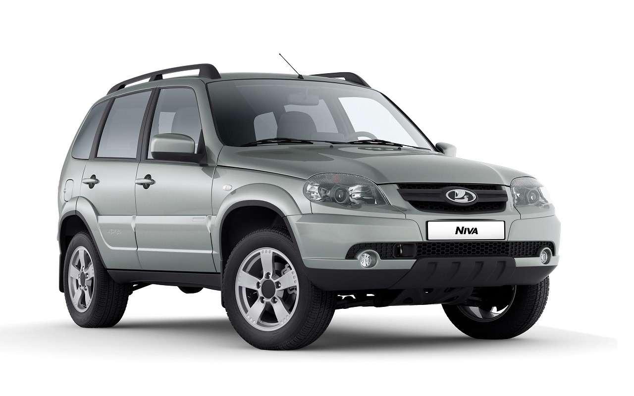 Lada Niva официально: как выглядит, какие приборы исколько стоит— фото 1144296