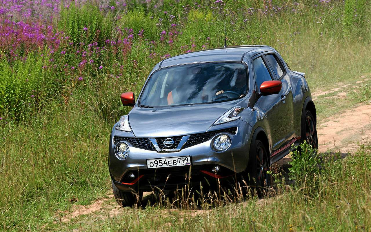 6 плюсов и3минуса обновленного Nissan Juke— фото 908065