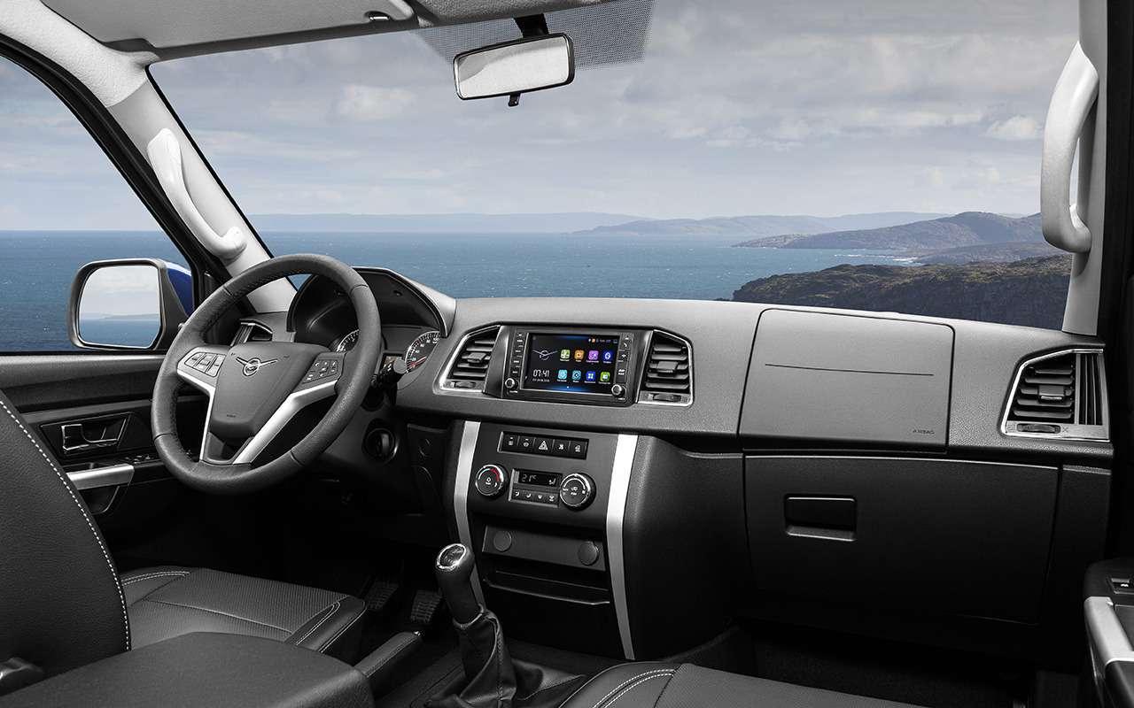 Обновленный УАЗ Патриот иего главные конкуренты: выбираем лучший вариант— фото 906888