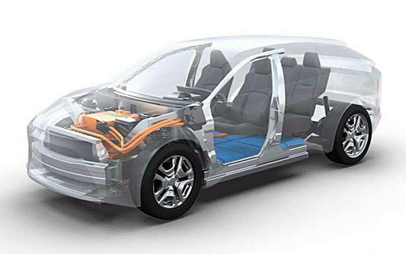Кроссовер-электромобиль