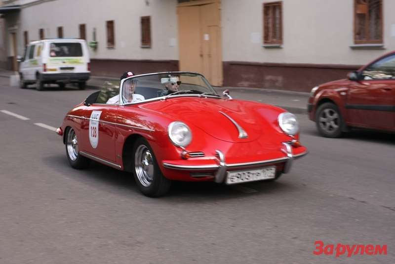 Porsche 356 Глеба Рачко иНикиты Гудкова