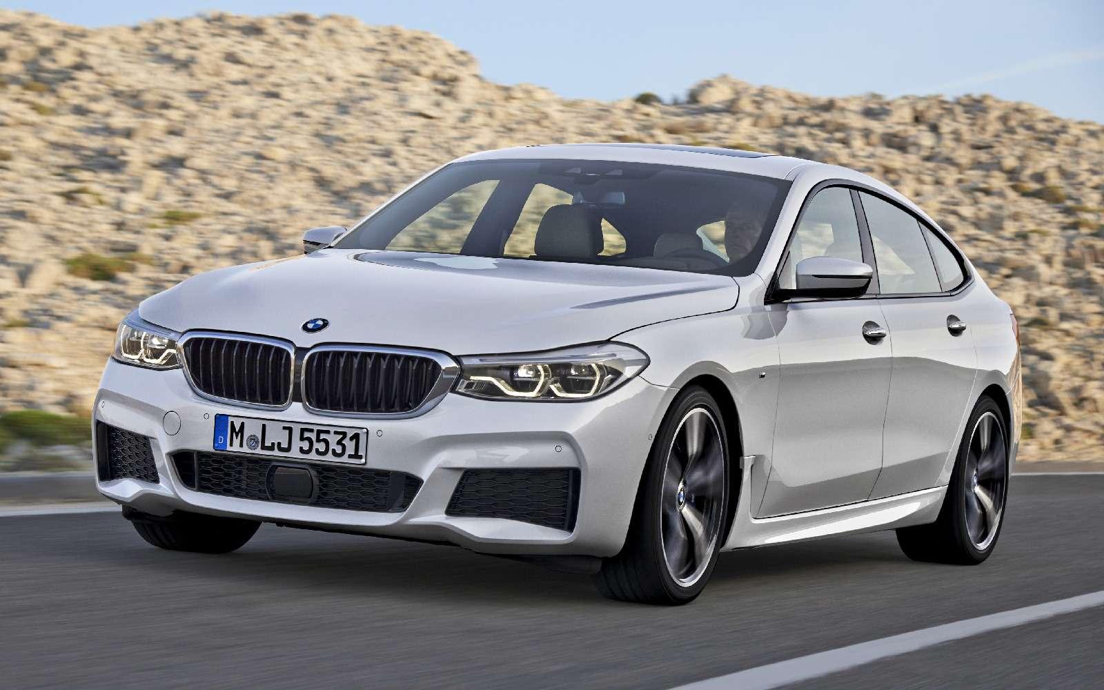 Новый лифтбек BMW 6-й серии Gran Turismo— лучше, чем «сарай»!— фото 764541