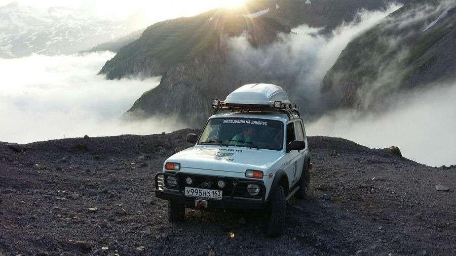 Удивительная история Нивы: Эверест, Антарктида ицирк смедведями— фото 1168200