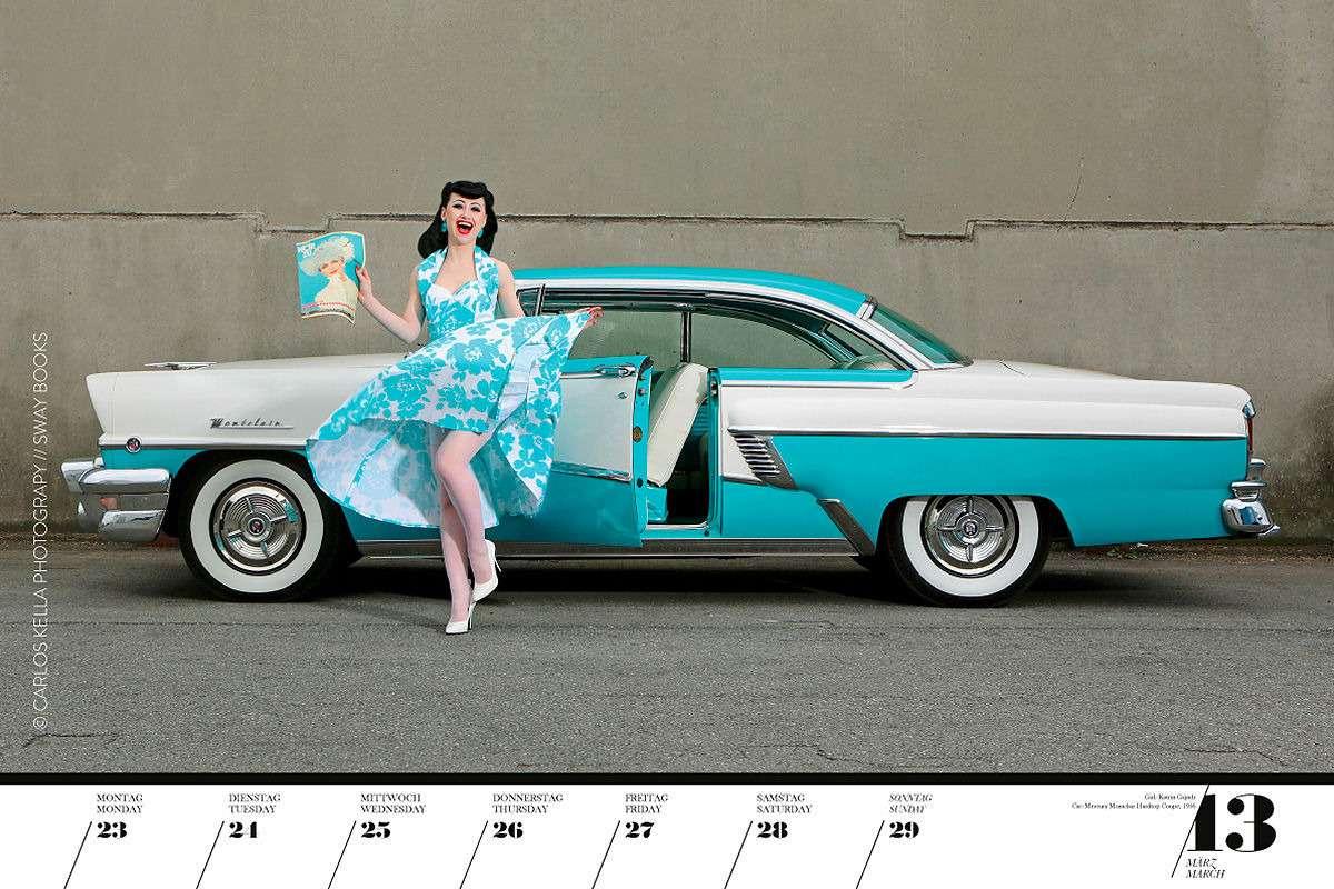 16красоток и29легендарных тачек Америки— ваш календарь-2020— фото 1003760