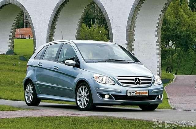 Mercedes-Benz B200. Позакону бутерброда— фото 59781