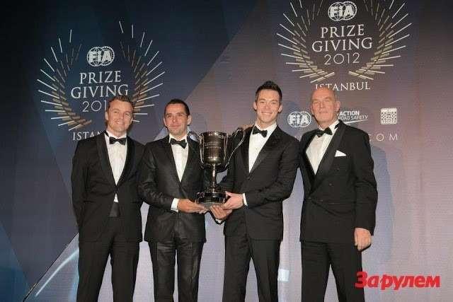 FIAWORLD ENDURANCE CHAMPIONSHIP— Winners— André LOTTERER, Benoit TRELUYER & Marcel FÄSSLER, AUDI AG