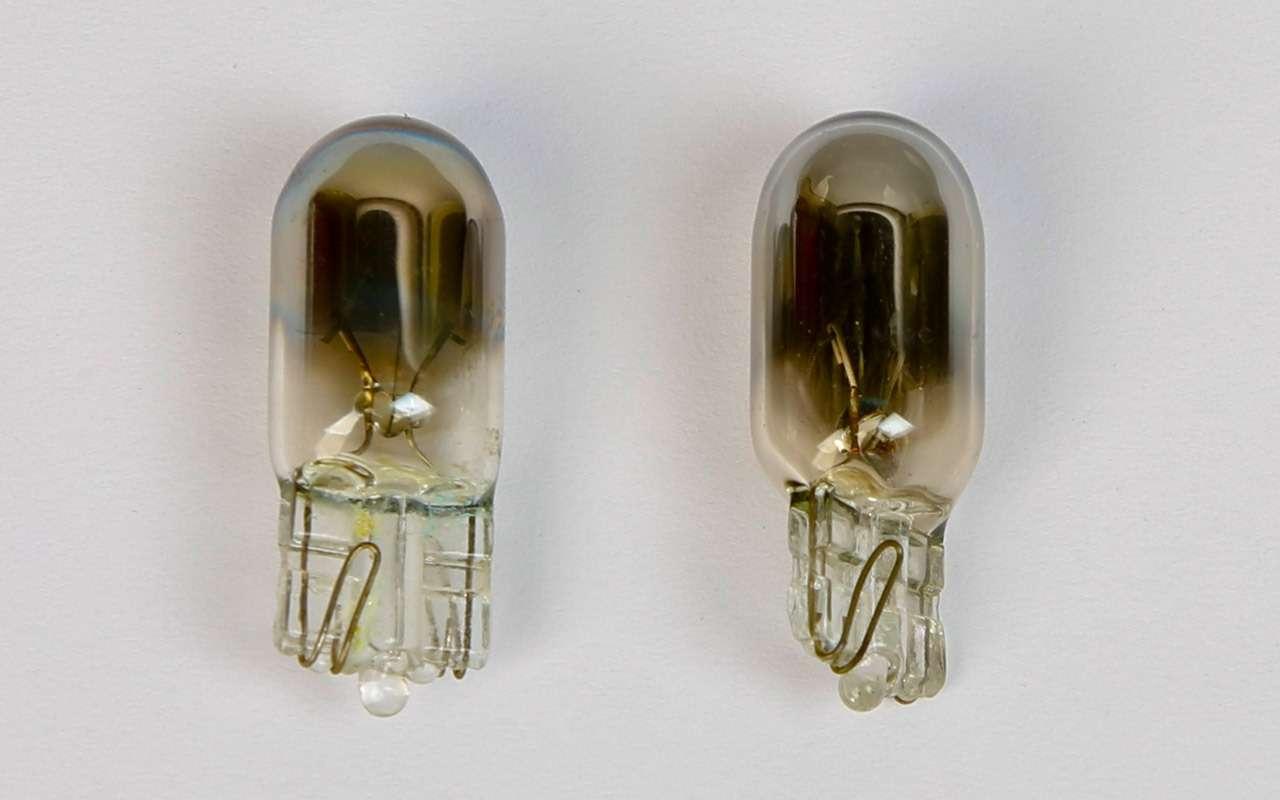 Выбираем лампы длягабаритных огней— экспертиза ЗР— фото 790795