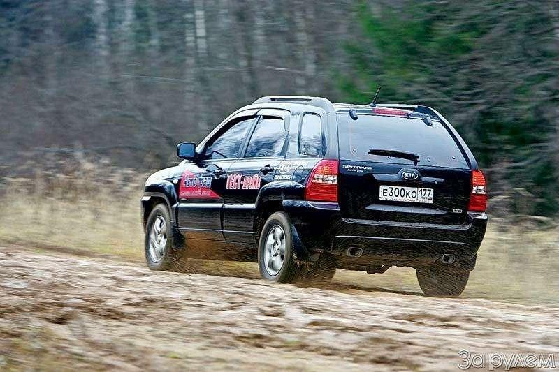 Тест Jeep Compass, Kia Sportage. Смешать, ноне взбалтывать— фото 70580