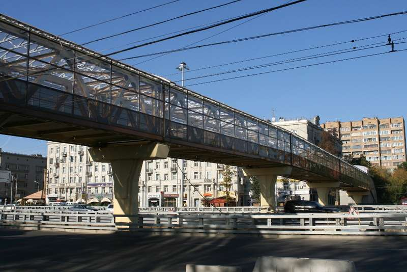 переход наЛенинградском проспекте