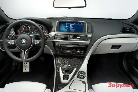 BMWM6inside