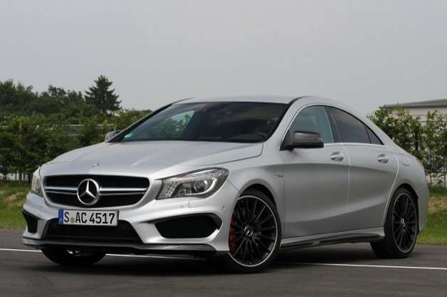 no copyright mercedes benz cla 45 amg