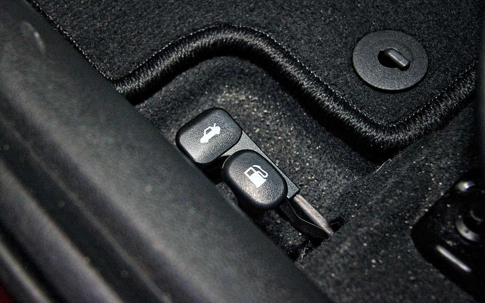 Багажник Hyundai Solaris 2017