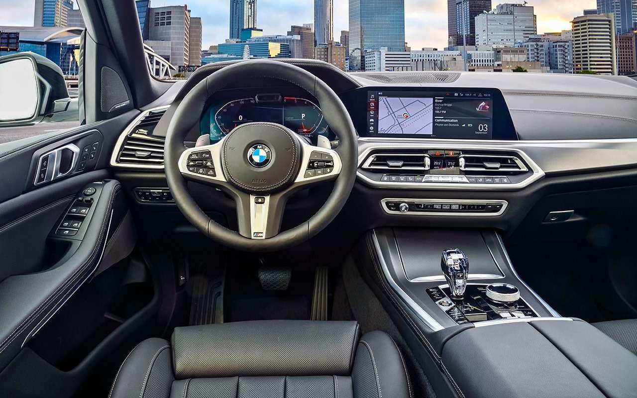 Новый BMW X5—  тест-драйв ввездеходных режимах— фото 912228