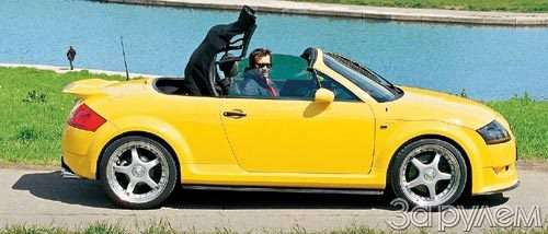 Тест Audi TT. ИГРУШКА  КРУПНОГО КАЛИБРА— фото 29805