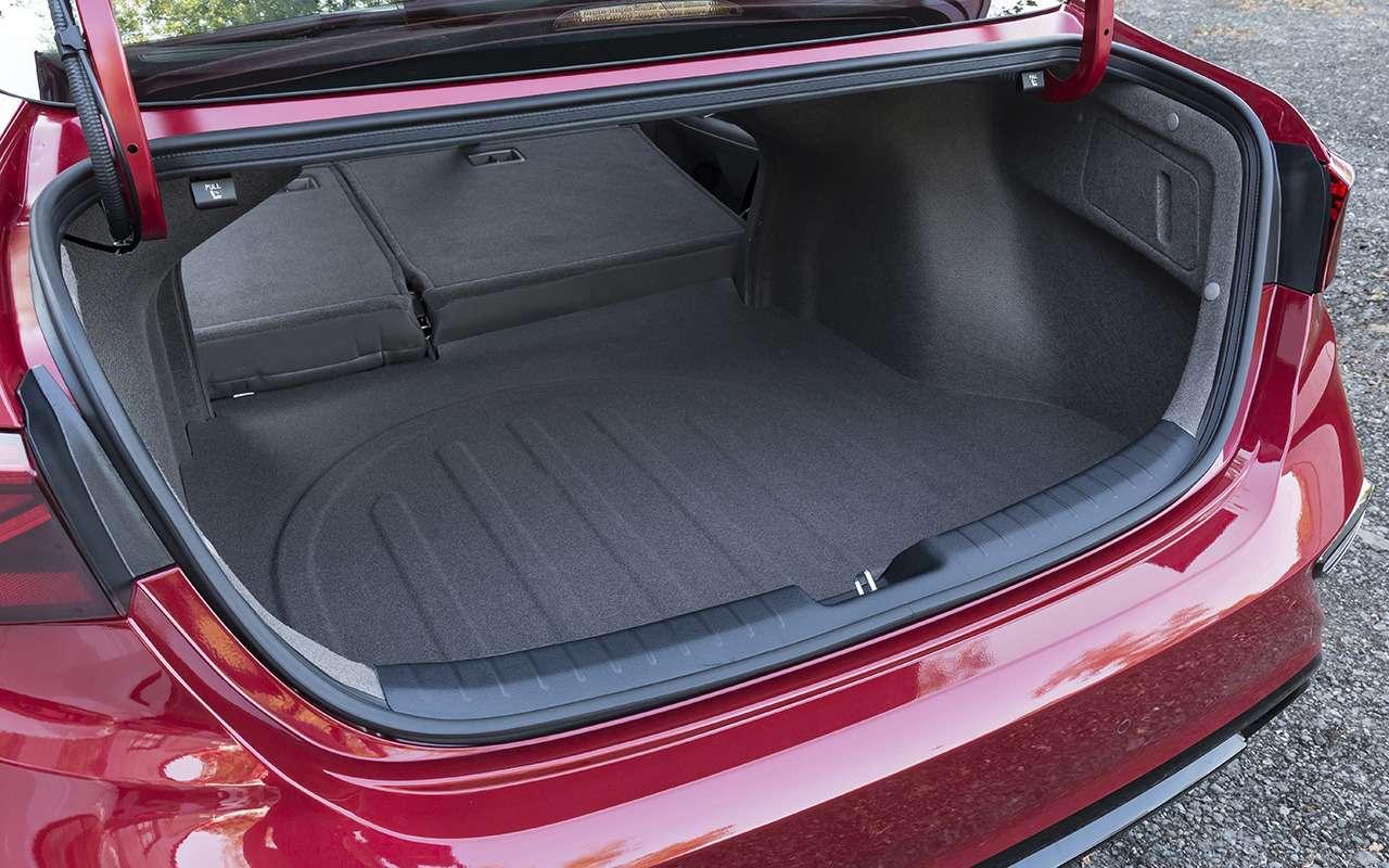 Тест нового Kia Cerato: самый большой багажник вклассе?! Почти— фото 904702