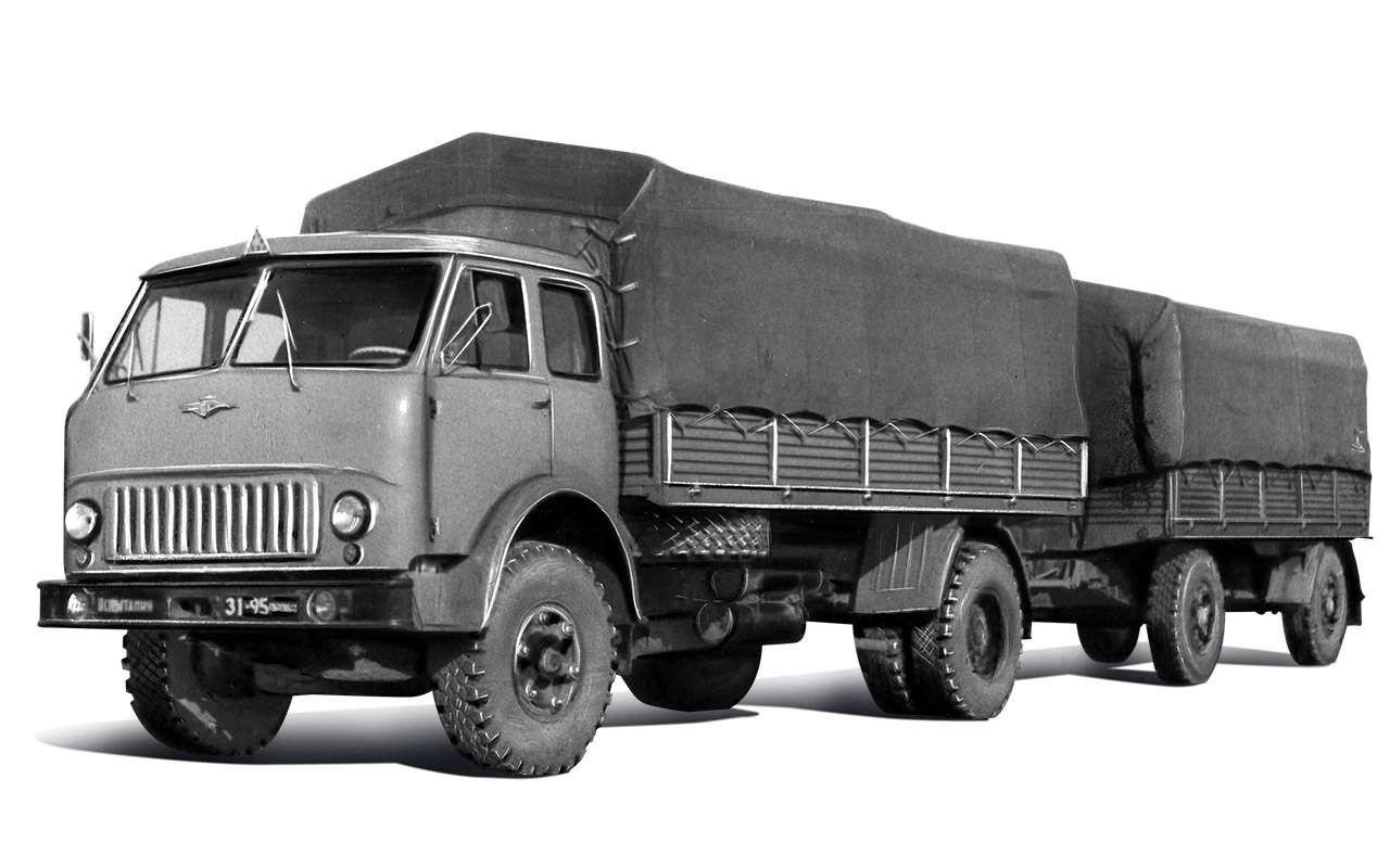 Грузовик застойных времен: как сделали передовой МАЗ‑500— фото 1200603