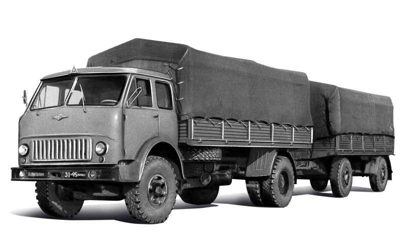 Грузовик застойных времен: как сделали передовой МАЗ‑500