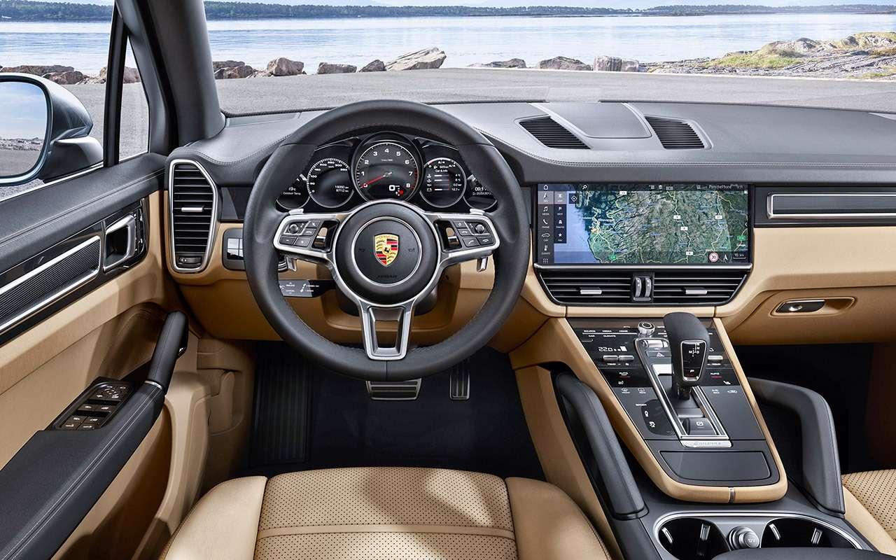 Porsche Cayenne третьего поколения— тест-драйв ЗР— фото 834162