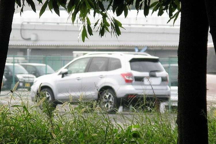 New Subaru Forester side-rear view_no_copyright