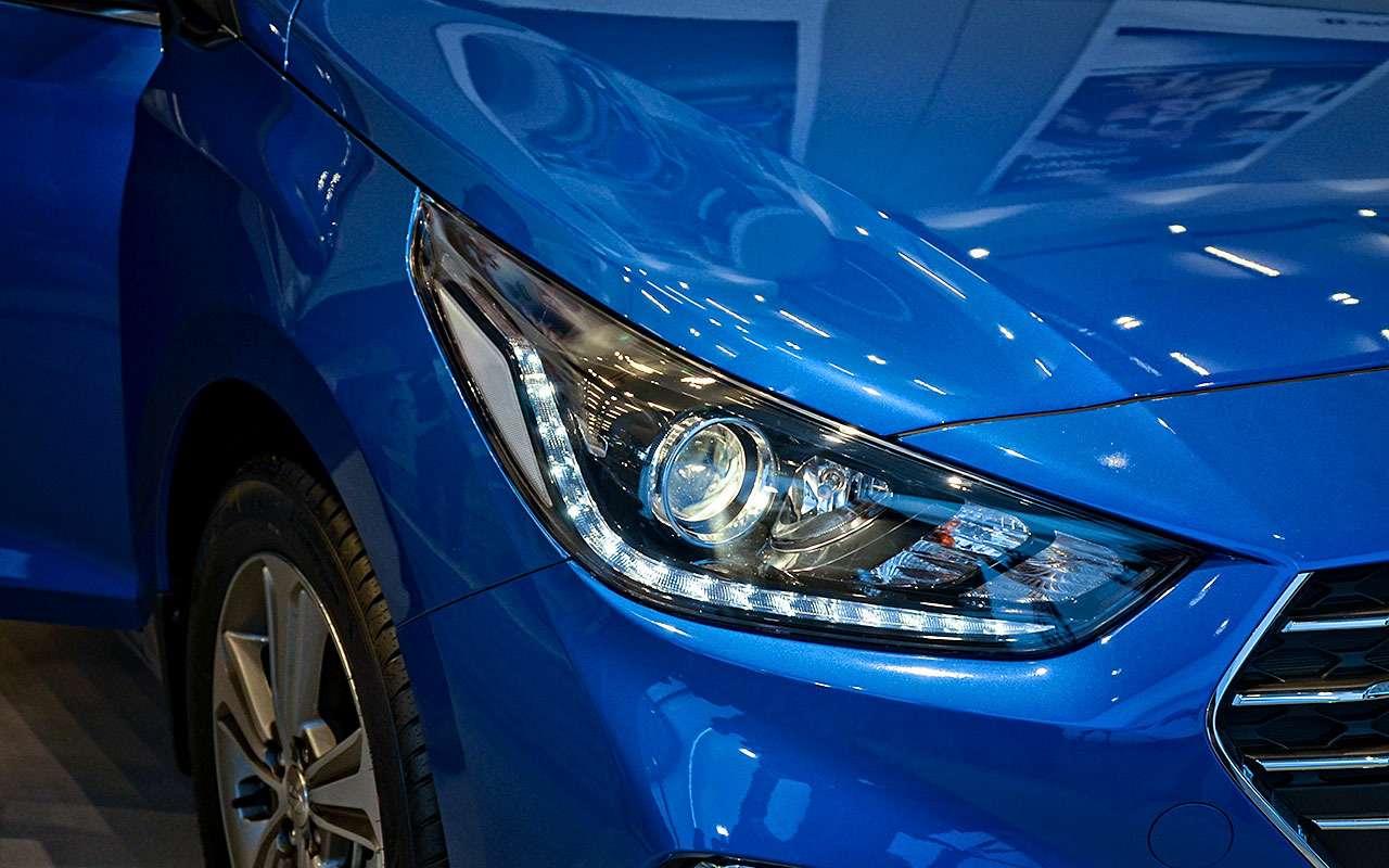 Hyundai Solaris второго поколения вышел изтени— фото 703607