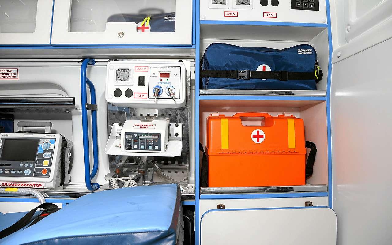 Какустроен современный автомобиль скорой помощи— фото 875256