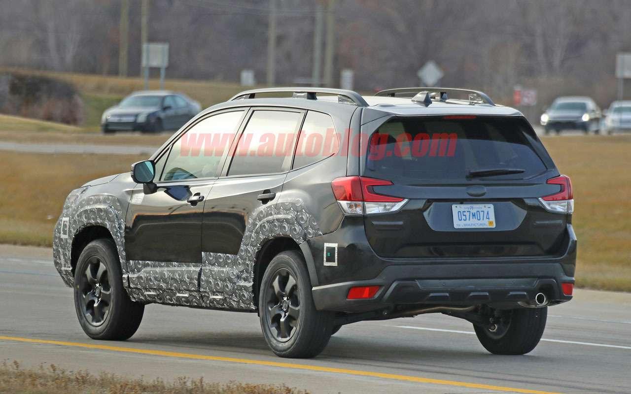 Subaru готовит суровый Forester— первые фото— фото 1209749