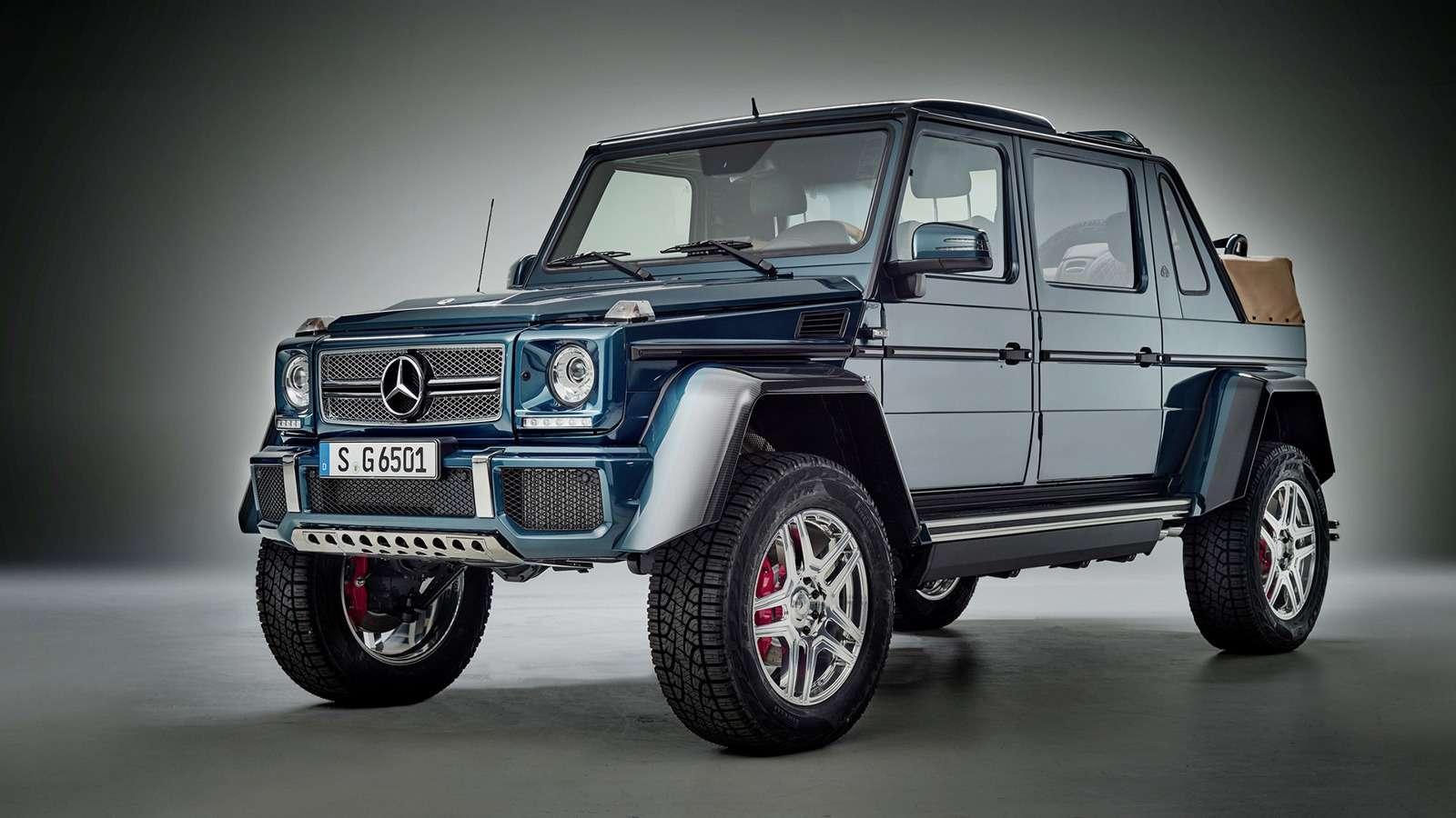 Внедорожник Maybach продали за1,2 миллиона евро. Икупил его не шейх!— фото 803347