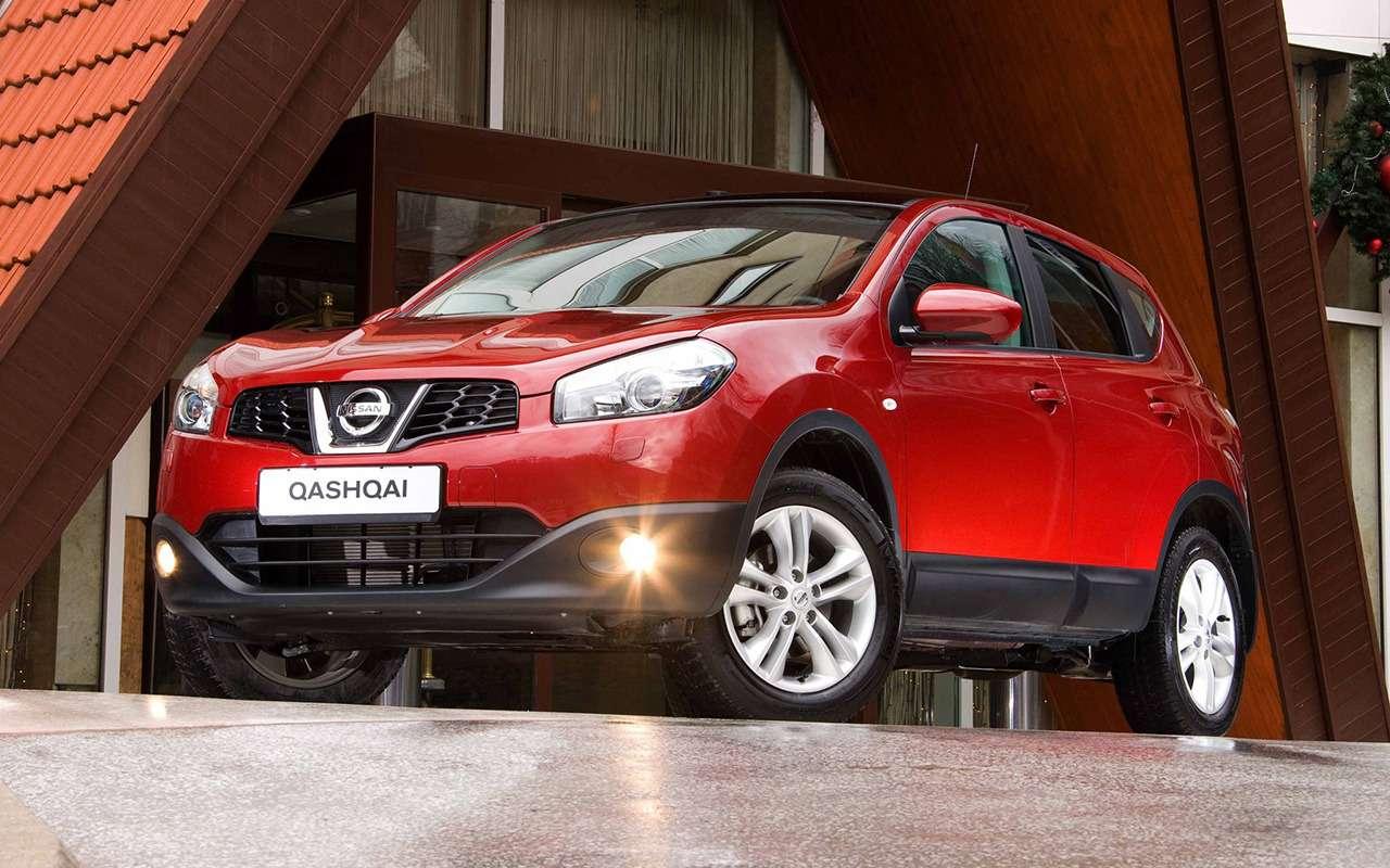 Выбираем Nissan Qashqai спробегом: список основных проблем— фото 894397