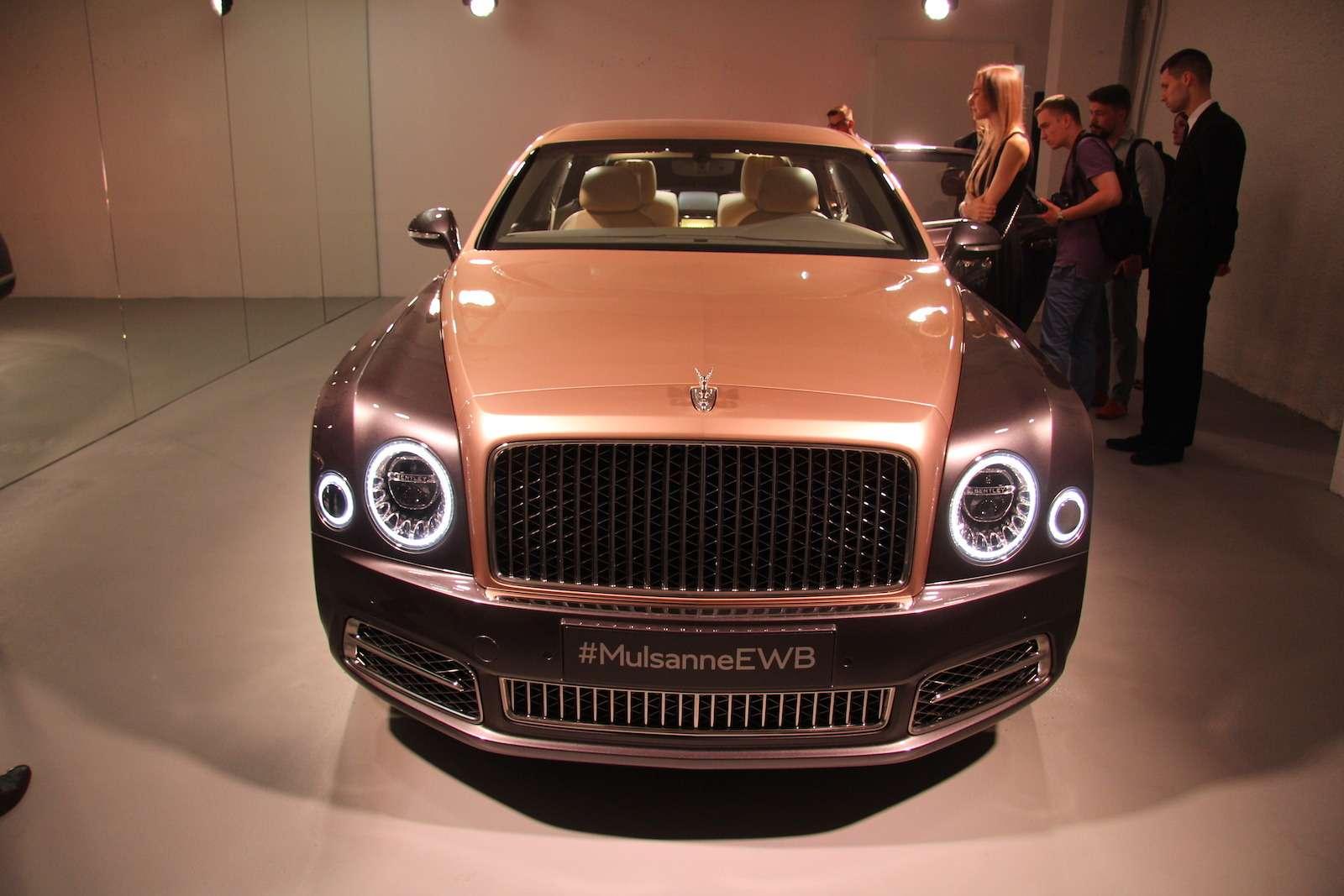 Bentley привезла вМоскву «экстраординарную» выставку— фото 594013