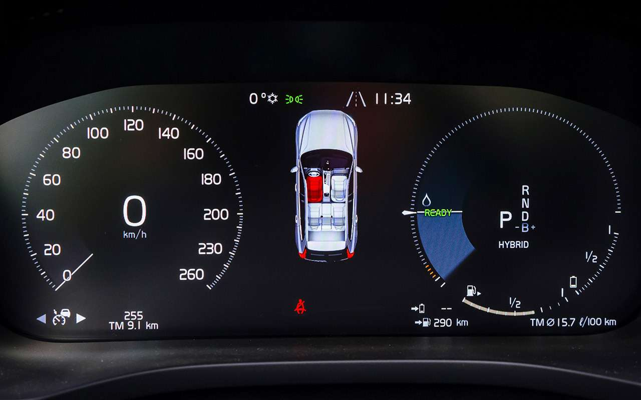 Самый быстрый Volvo: гибридный тест-драйв— фото 1120175