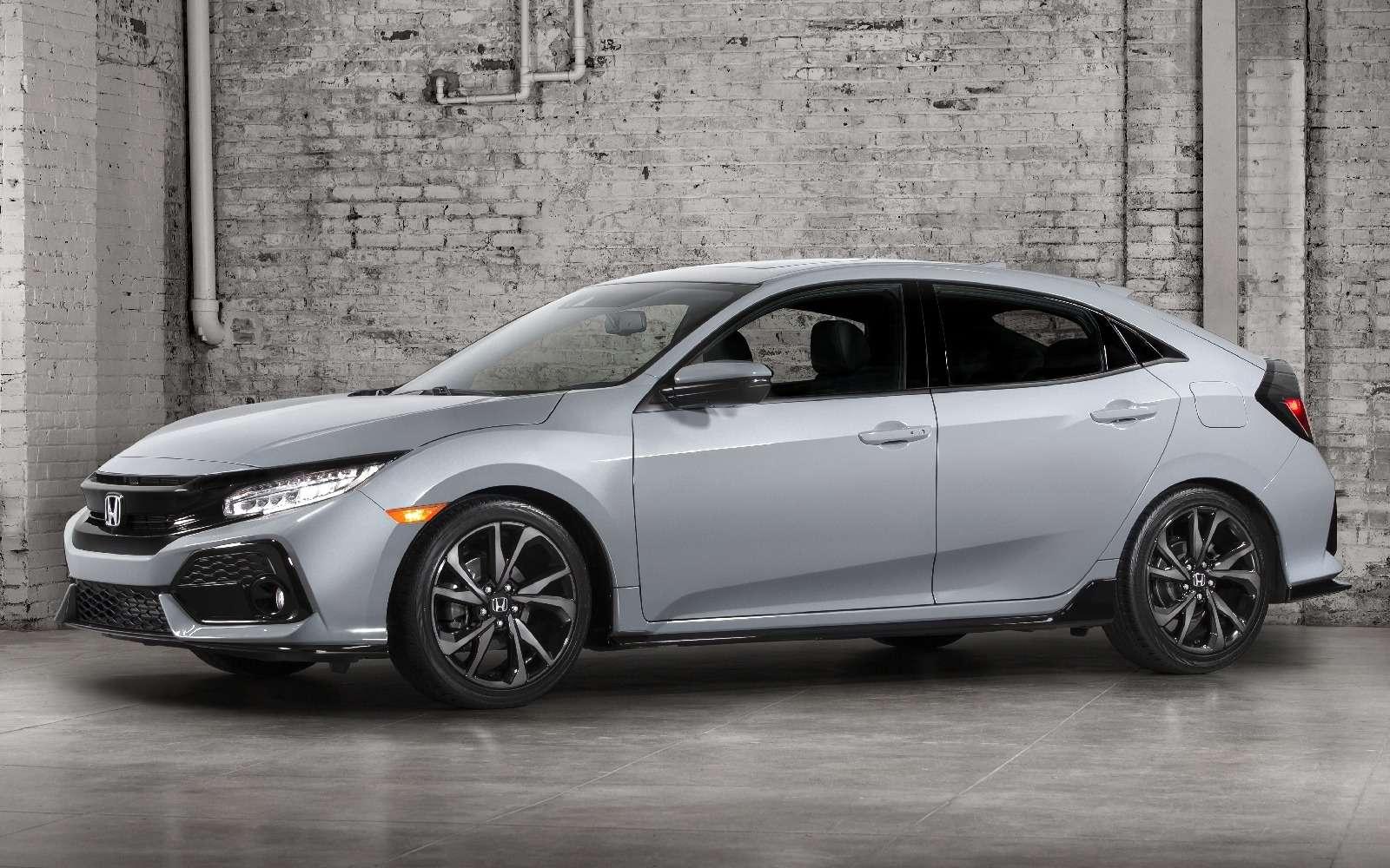 Honda Civic хэтчбек: первые фото серийной модели нового поколения— фото 619566