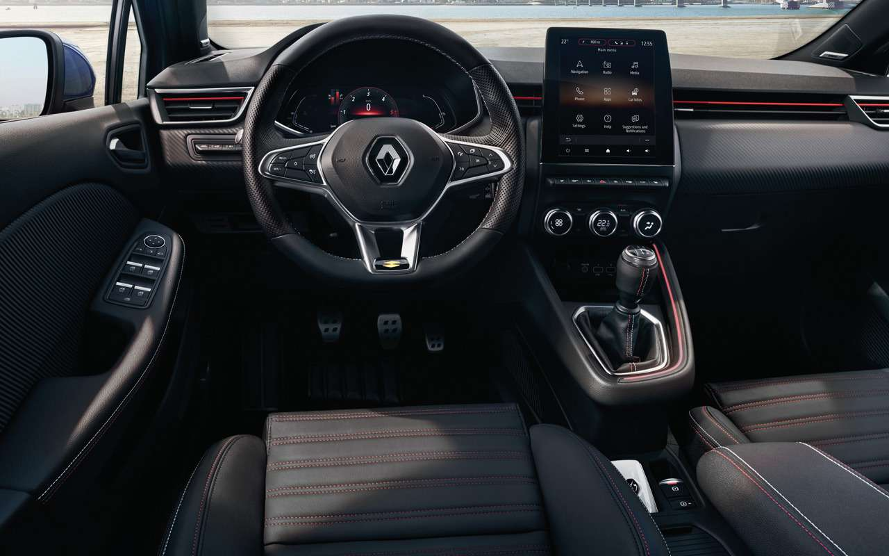 Renault показала салон нового Clio— фото 943979
