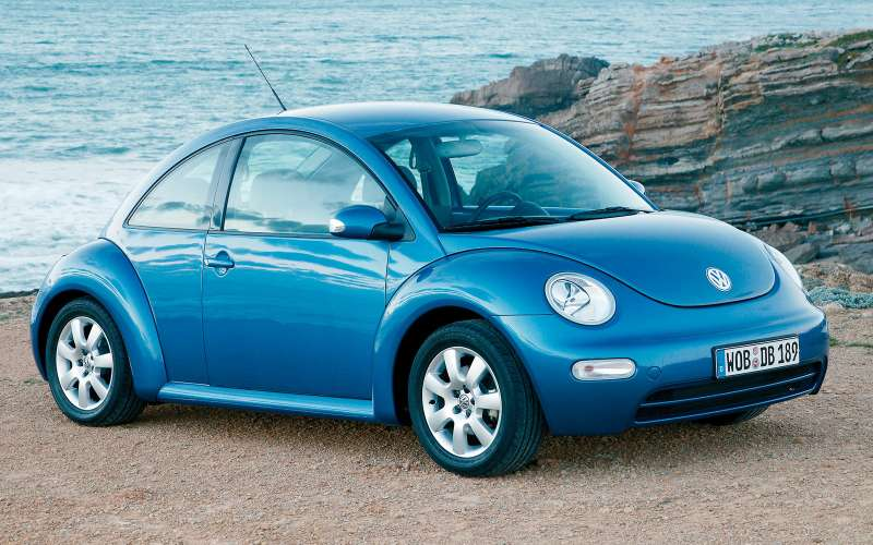 Volkswagen new Beetle, 1998-2010