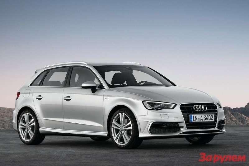 Audi A3Sportback S-Line side-front view