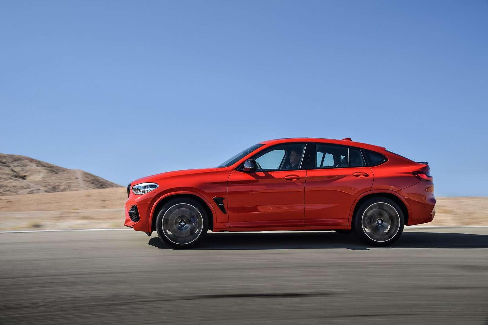 BMWрассекретила самые крутые версии кроссоверов X3и X4— фото 948696