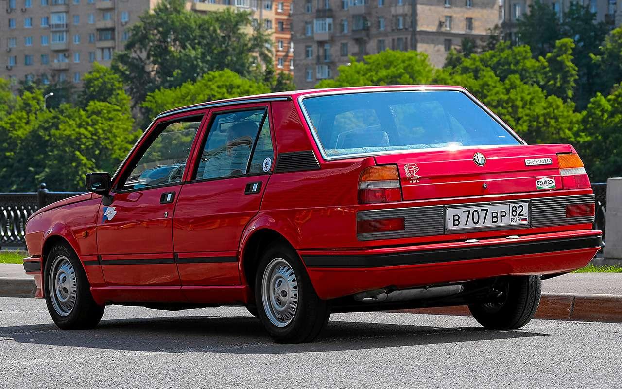 Машина комиссара Каттани— тест той самой Альфы— фото 1160801