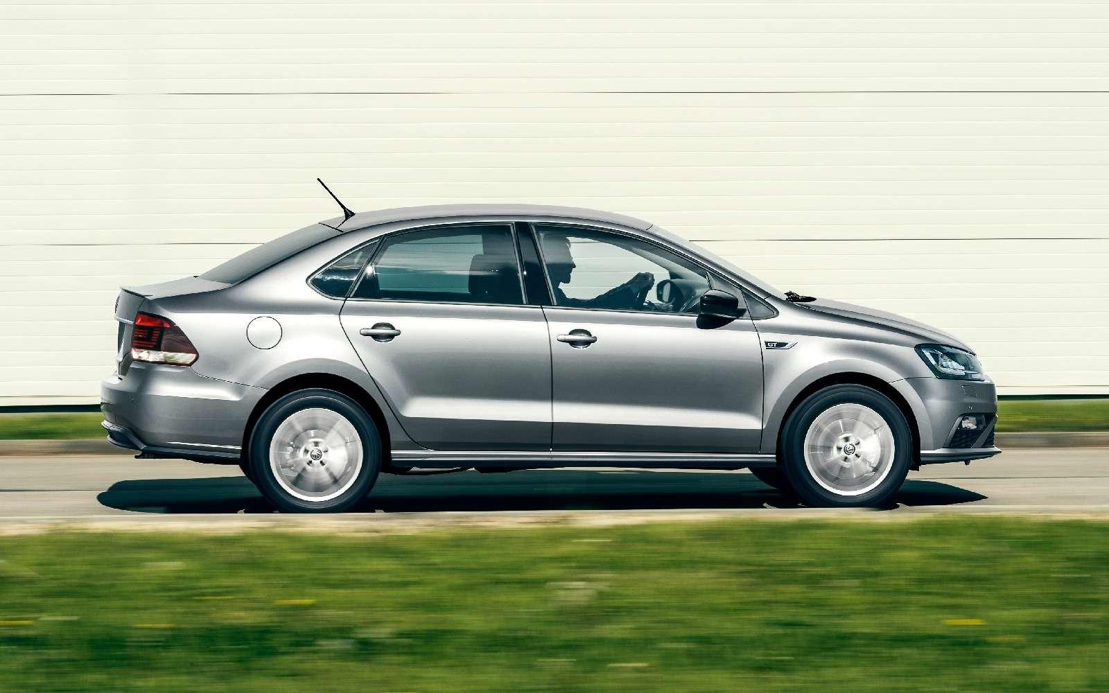Российский Volkswagen Polo GT: полосок навсех нехватит!— фото 592186