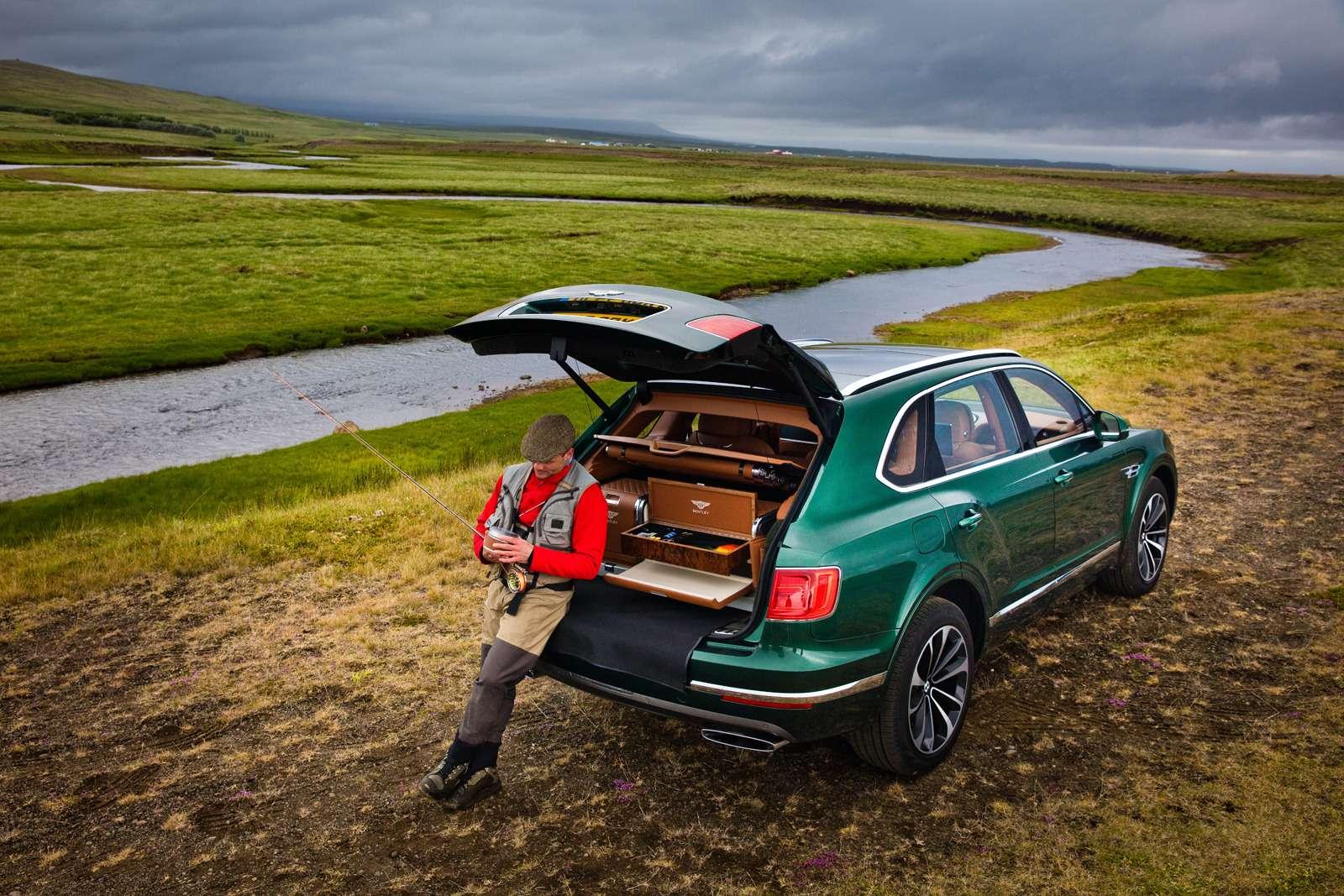 Bentley Bentayga поедет нарыбалку— фото 611168
