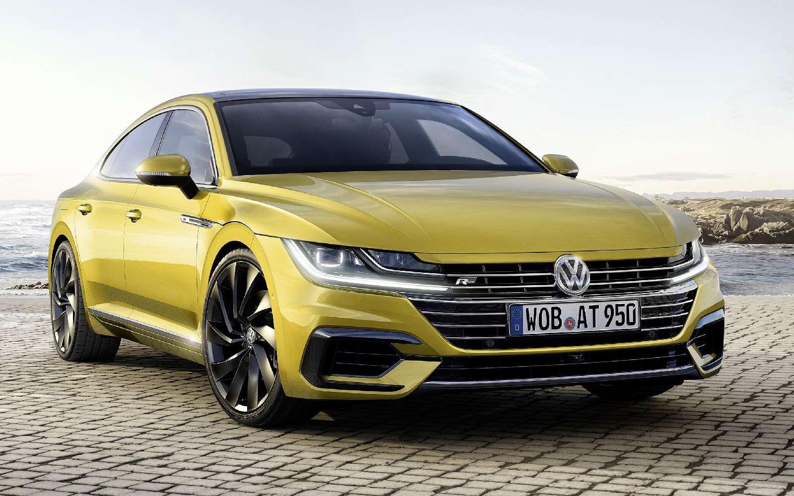 Volkswagen Arteon: это вам неЦе-Це!— фото 717139