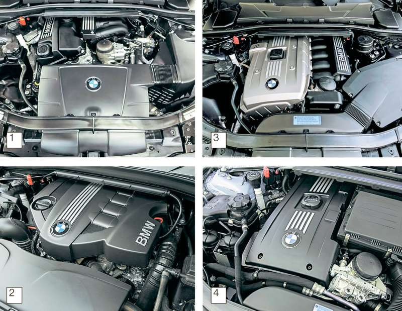 замена масла на BMW 320i e46