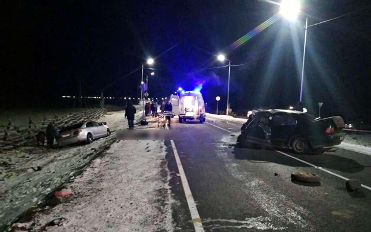 ВДТП сучастием полицейского погибли пять человек