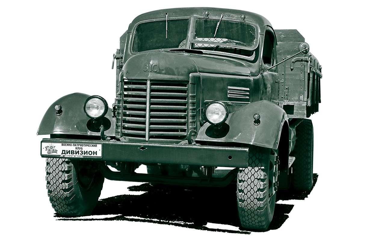 Заслуженный грузовик СССР— ретротест ЗИС-150— фото 1150097
