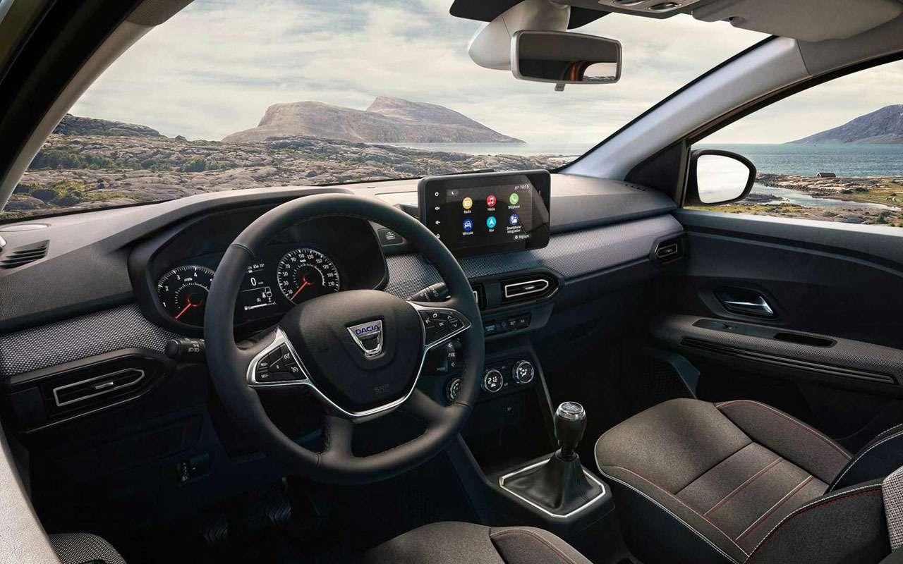 Dacia Jogger— новые подробности обудущем Ларгусе— фото 1275600